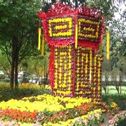 菊花造型灯笼
