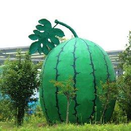 雕塑大西瓜